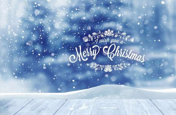 I wish you a Merry Christmas by PimpYourScreen wallpapers hd quality