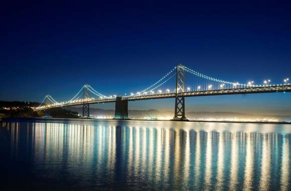 Lighted Bridge wallpapers hd quality