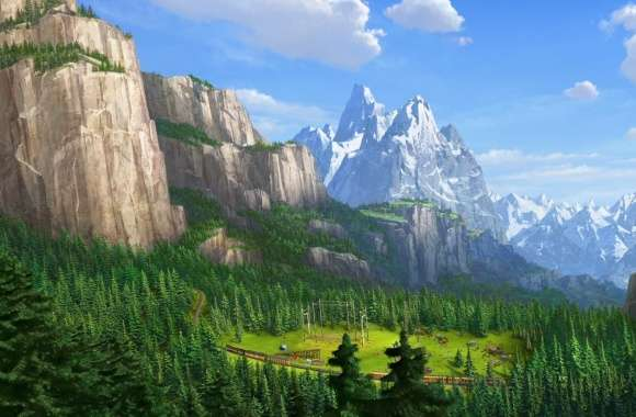 Madagascar 3 Europes Most Wanted Landscape