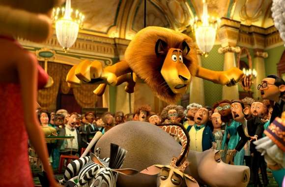 Madagascar 3 Monte Carlo Casino wallpapers hd quality