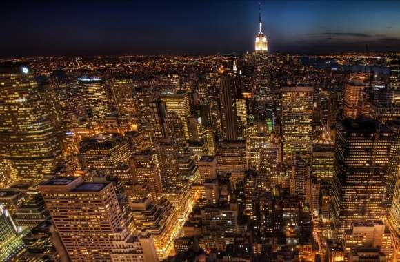 Manhattan Night Life wallpapers hd quality