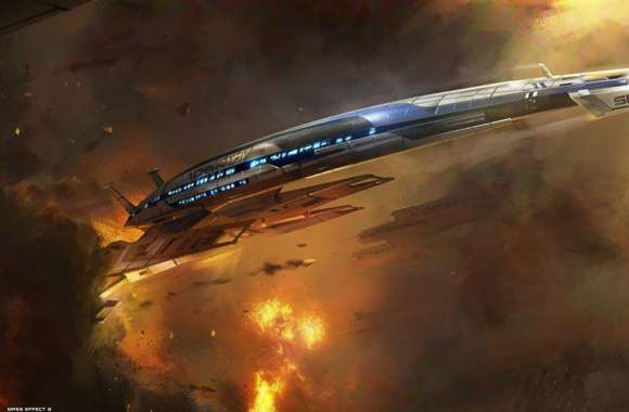Mass Effect 3 Ship