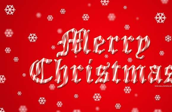 Merry Christmas 2016 Red Background