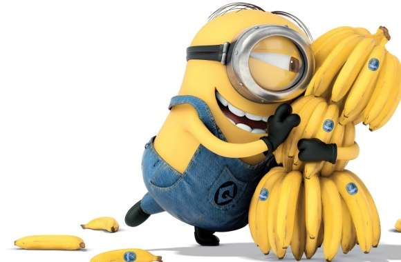 Minions Banana 2015 wallpapers hd quality