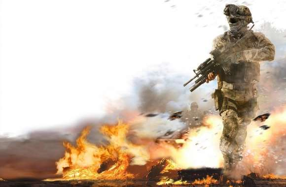 Modern Warfare 2 Fire