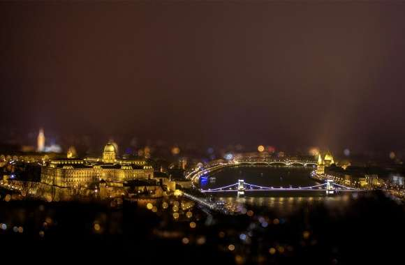 Panoramic view about Budapest