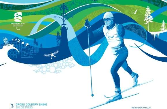 Para Cross-Country Skiing wallpapers hd quality