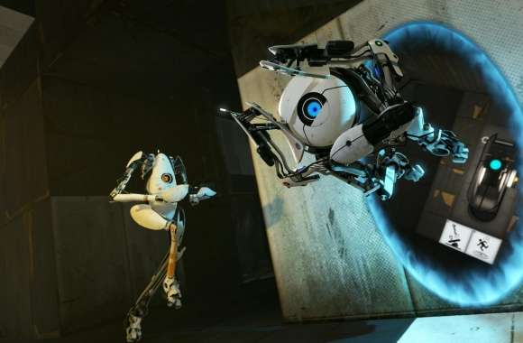 Portal 2 Coop Bots wallpapers hd quality
