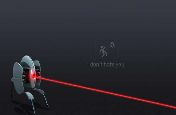 Portal 2 Turret  I Dont Hate You