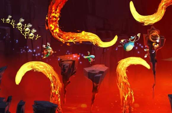 Rayman Legends Lava Chase