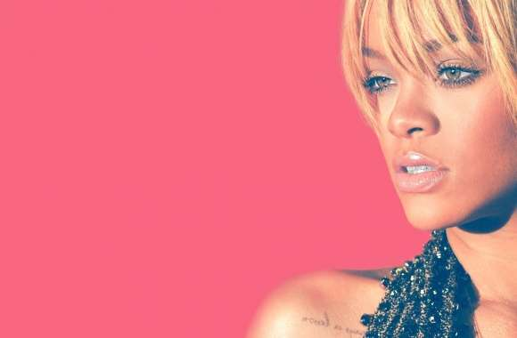 Rihanna Blonde Hair 2012 wallpapers hd quality