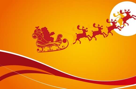 Santa Is Coming For Christmas 1 wallpapers hd quality