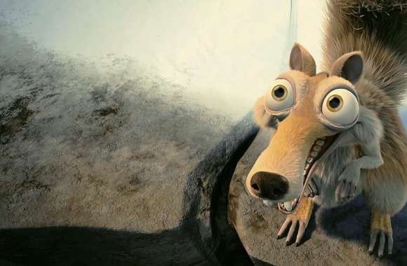 Scrat In Love Ice Age