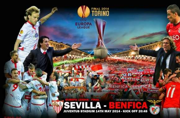 SEVILLA - BENFICA EUROPA LEAGUE FINAL 2014 wallpapers hd quality