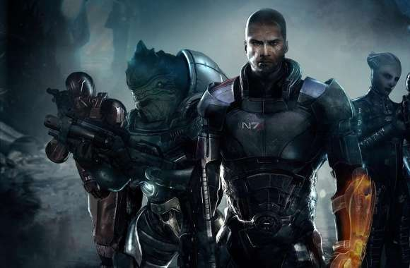 Shepard and his Team