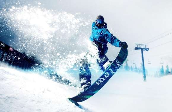Snowskate Winter Sports wallpapers hd quality