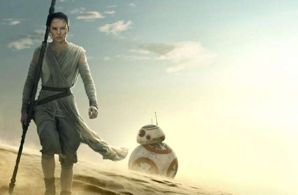 Star Wars The Force Awakens Rey BB-8