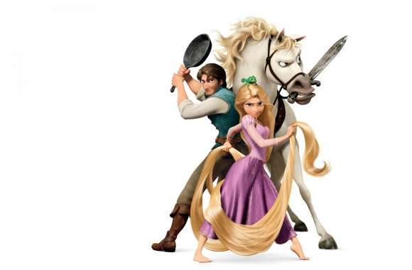 Tangled Disney  Rapunzel And Flynn Ryder