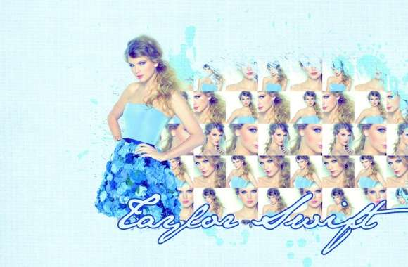 Taylor Swift Blue Dress wallpapers hd quality