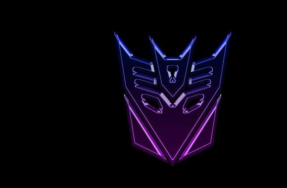 Transformers Decepticons Logo Widescreen