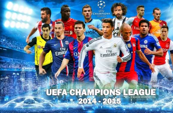 UEFA CHAMPIONS LEAGUE 2014-2015 wallpapers hd quality