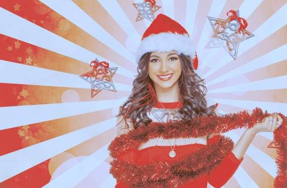 Victoria Justice Christmas Outfit wallpapers hd quality