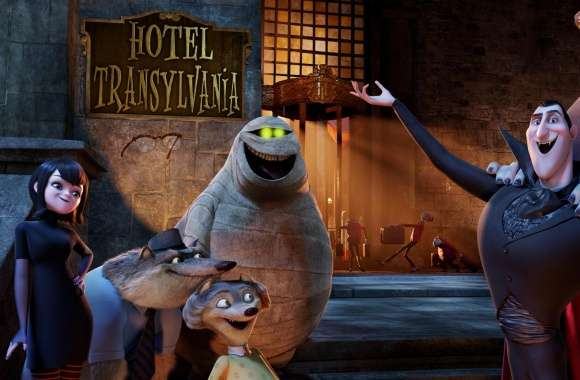 Welcome to the Hotel Transylvania wallpapers hd quality