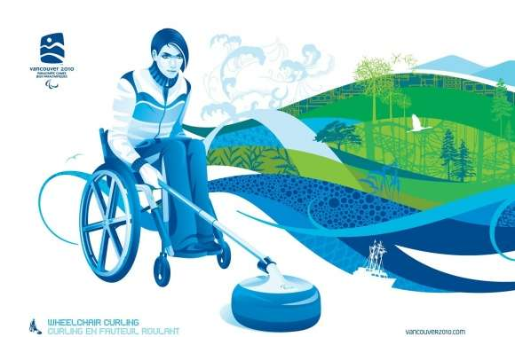 Wheelchair Curling wallpapers hd quality