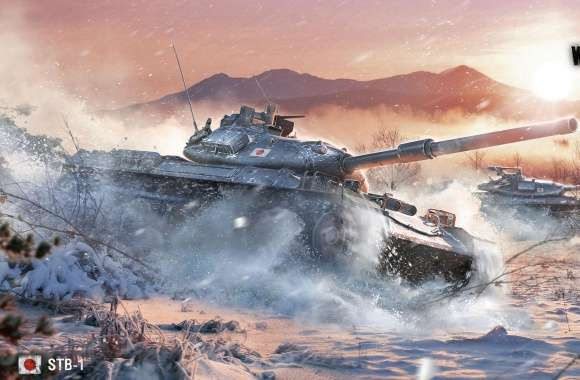 World of Tanks STB-1