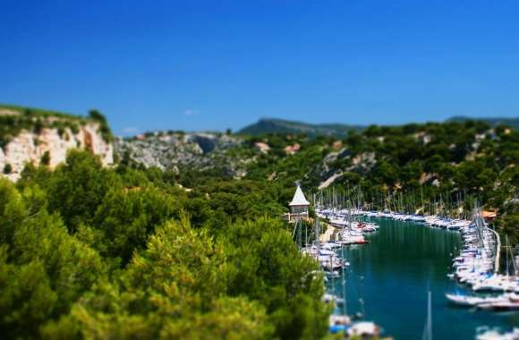 Yachts Tilt-Shift