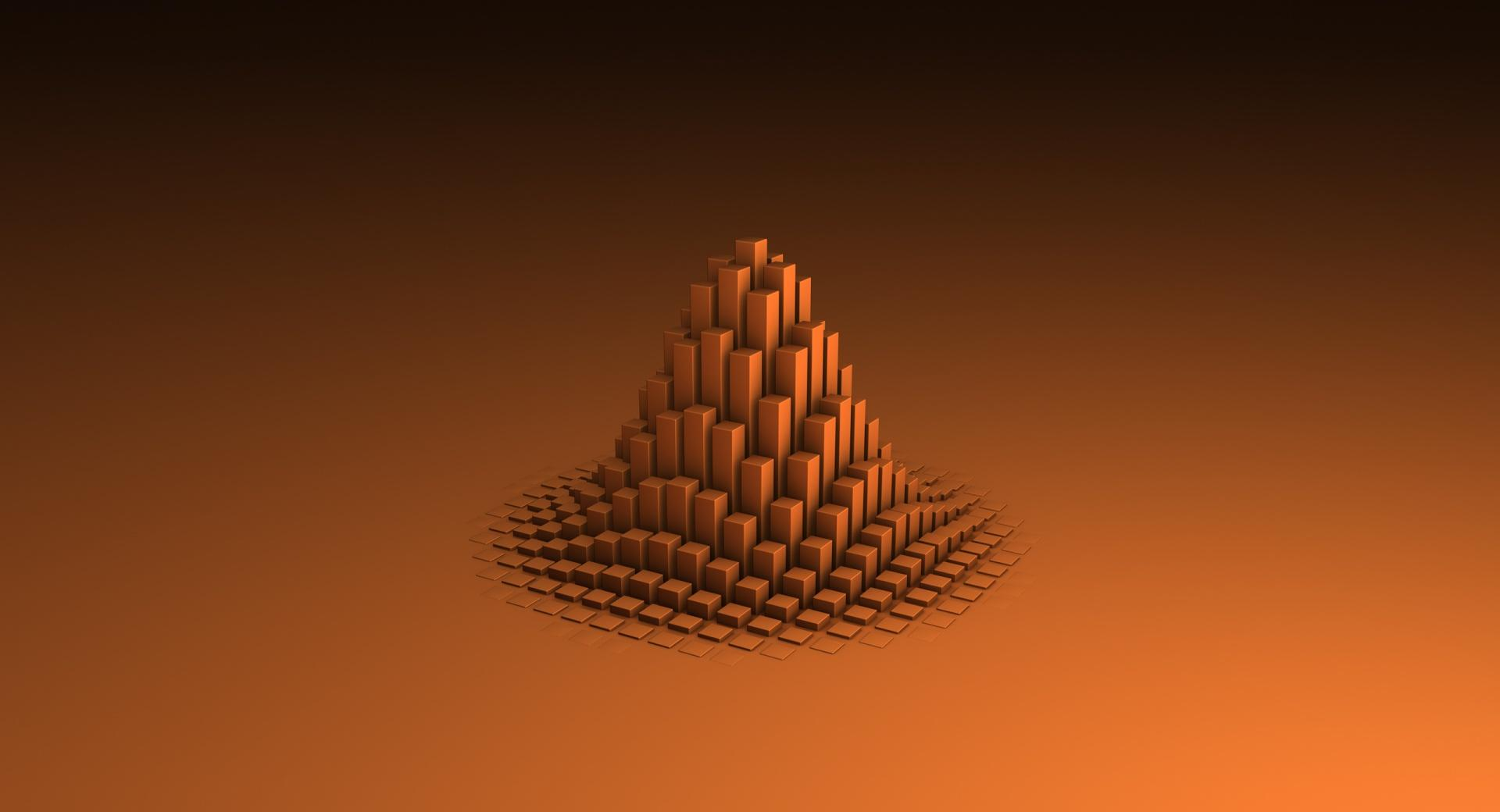 Abstract Pyramid wallpapers HD quality