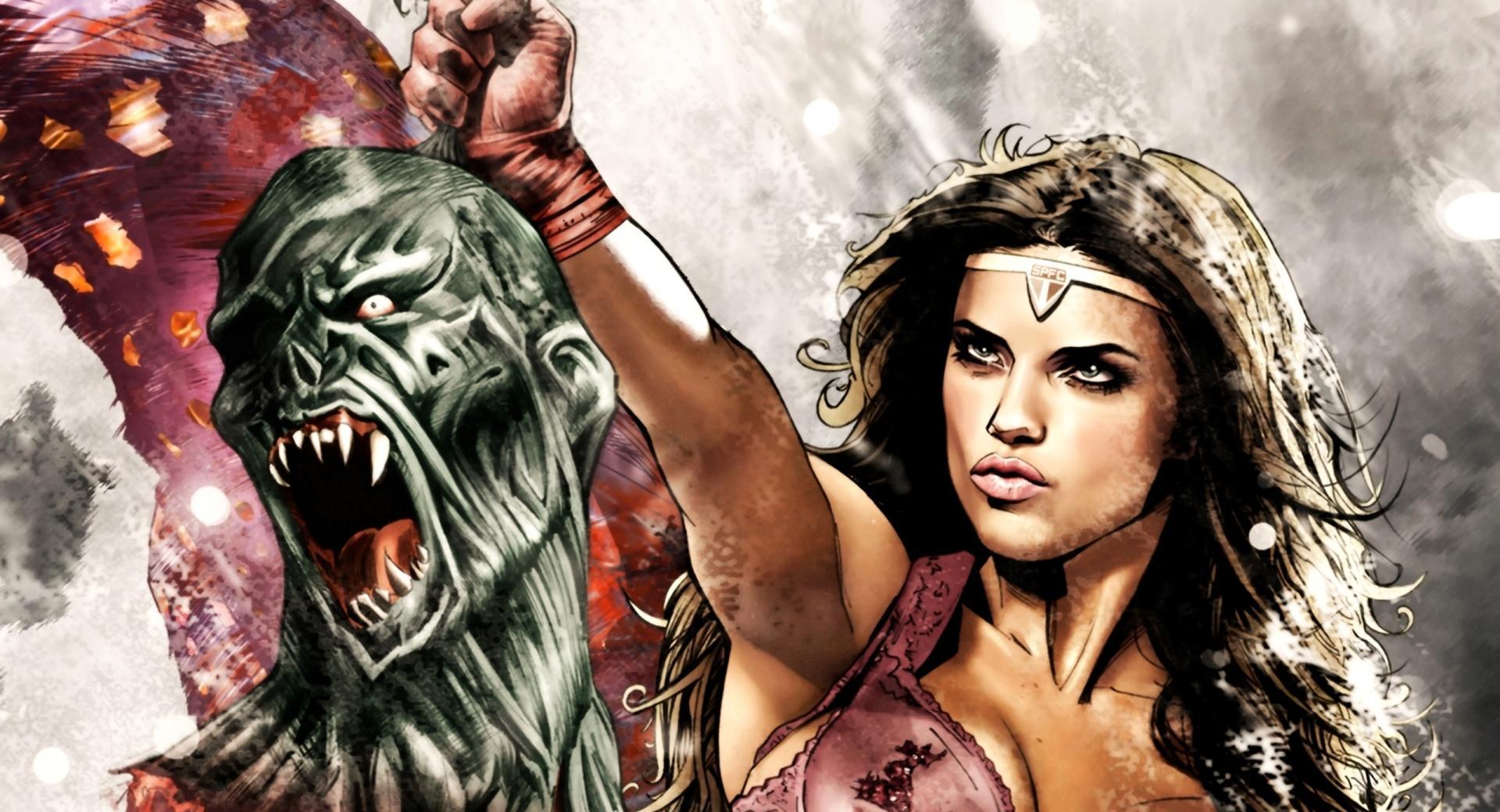Adriana Lima Superhero wallpapers HD quality