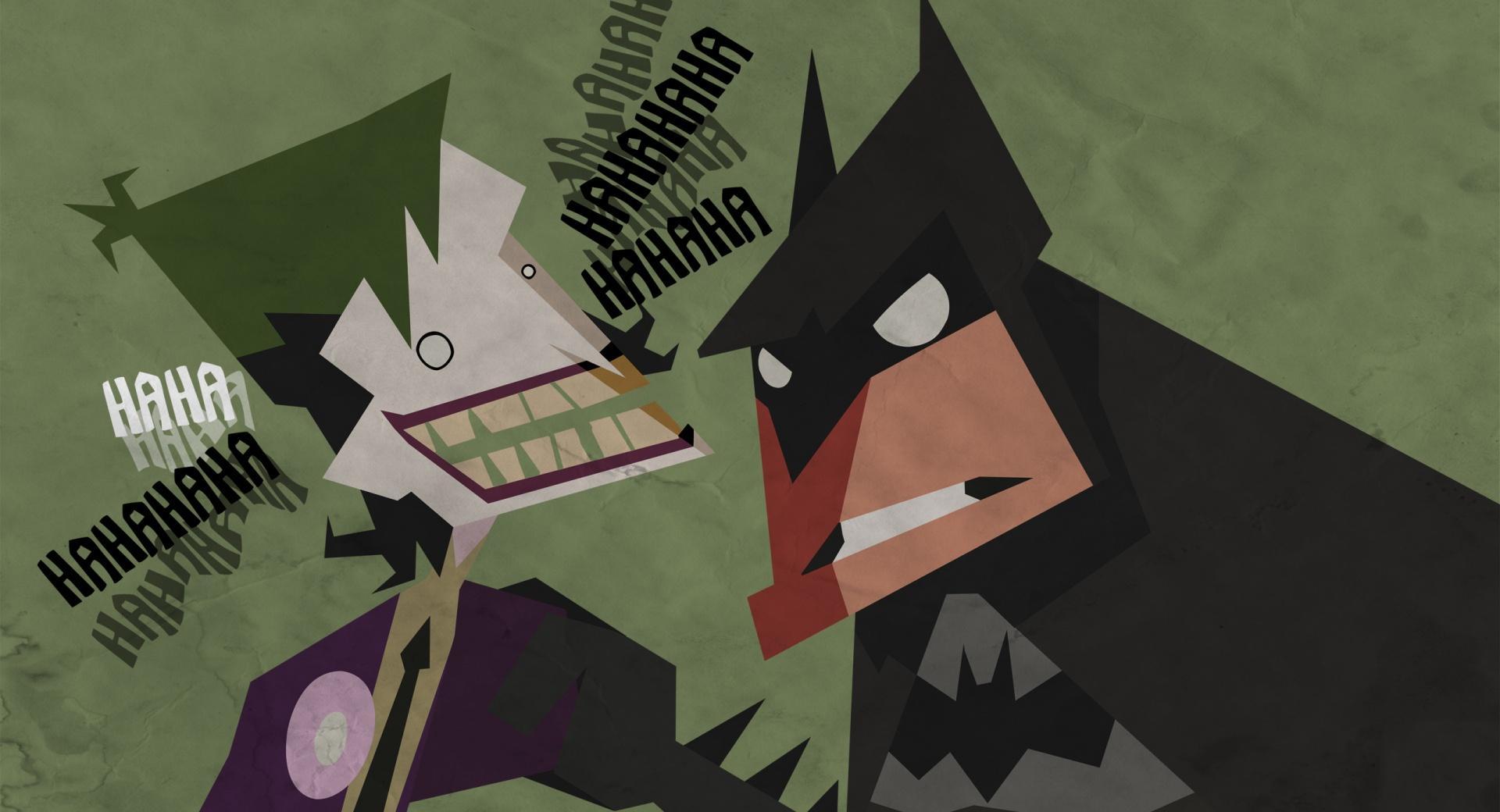 Batman And Joker Cartoon wallpapers HD quality