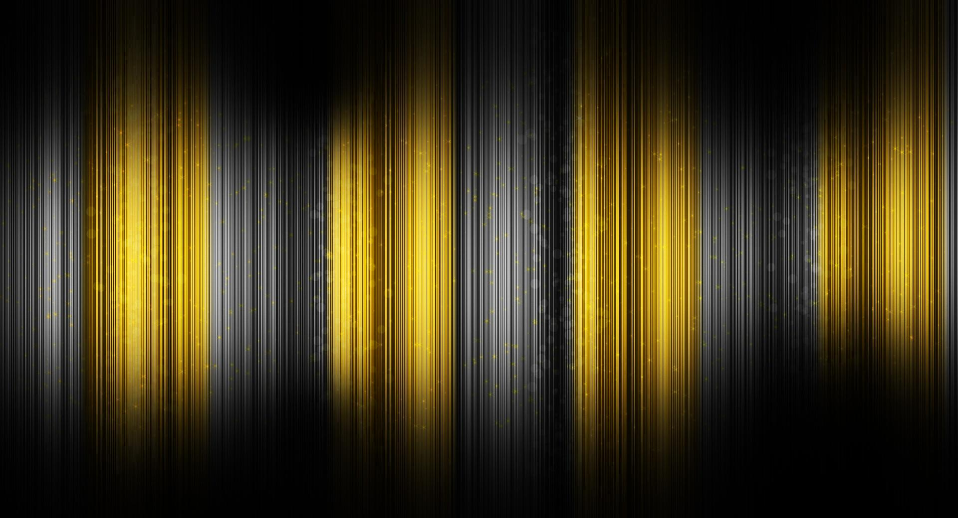 Black And Yellow Abstract wallpapers HD quality