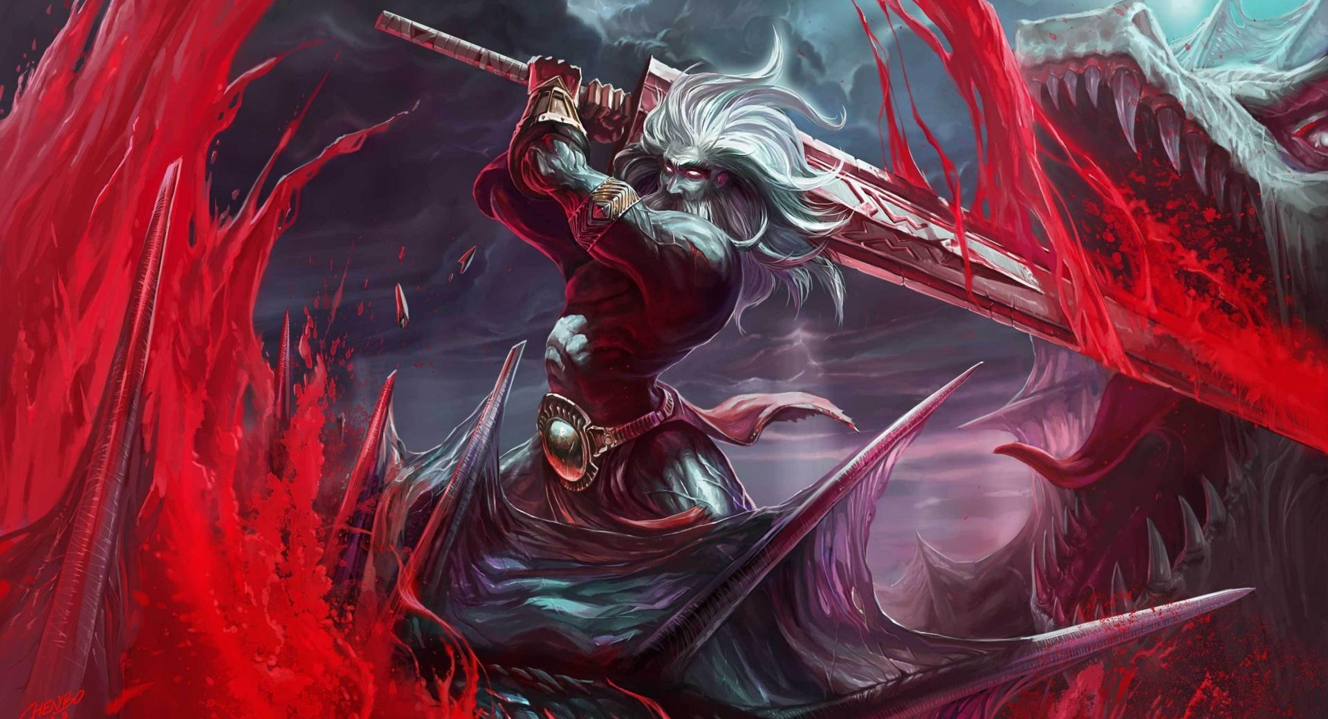 Bloody Battle at 750 x 1334 iPhone 6 size wallpapers HD quality