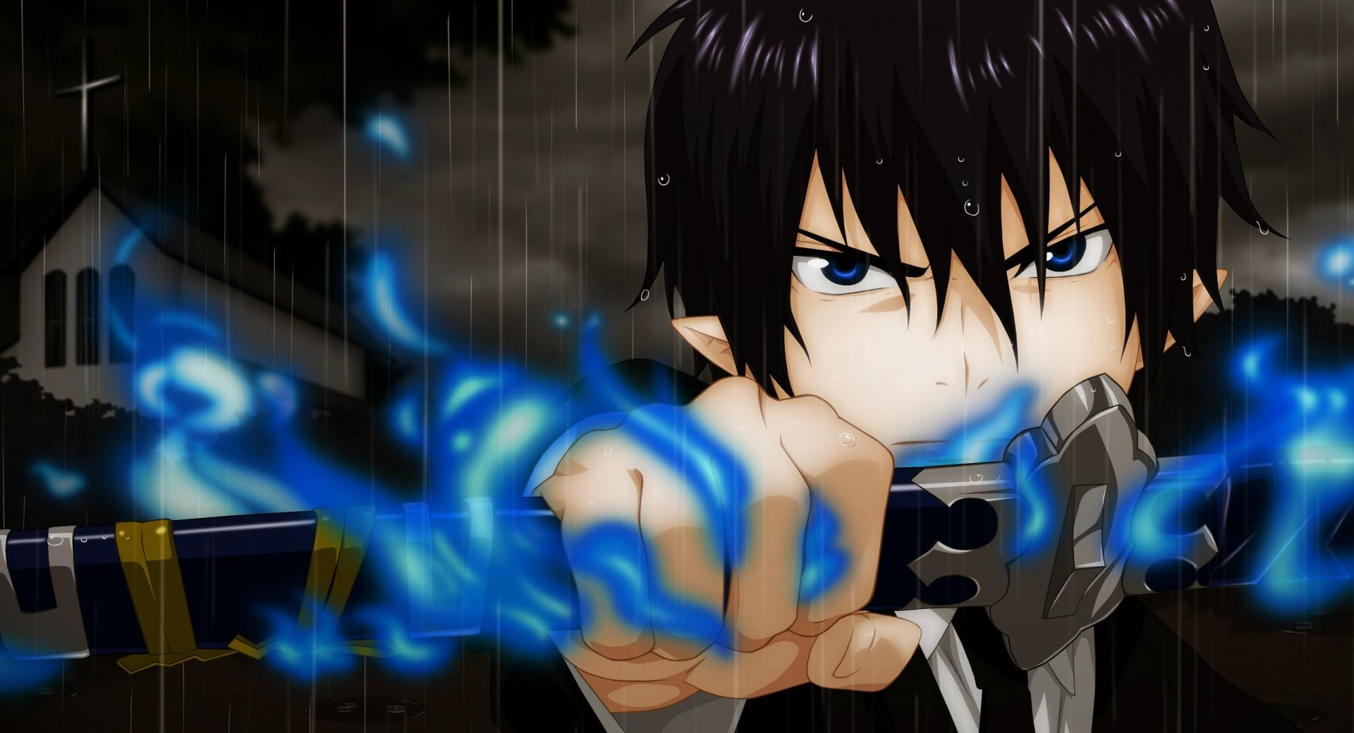 Blue Exorcist  Rin Okumura wallpapers HD quality