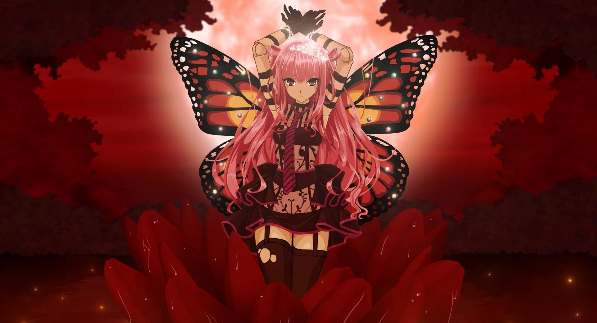 Butterfly Girl wallpapers HD quality