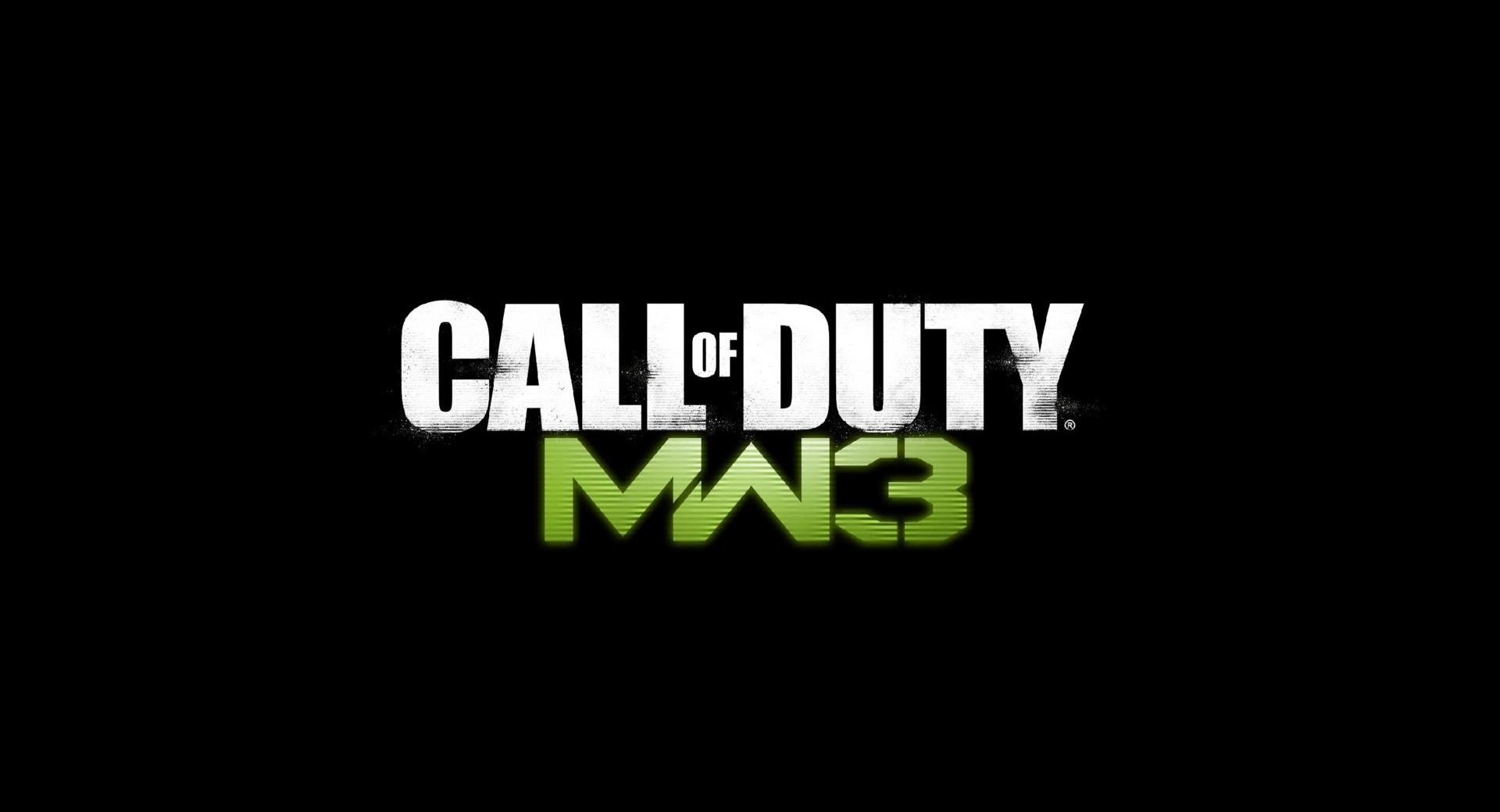 Call Of Duty MW3 Logo wallpapers HD quality