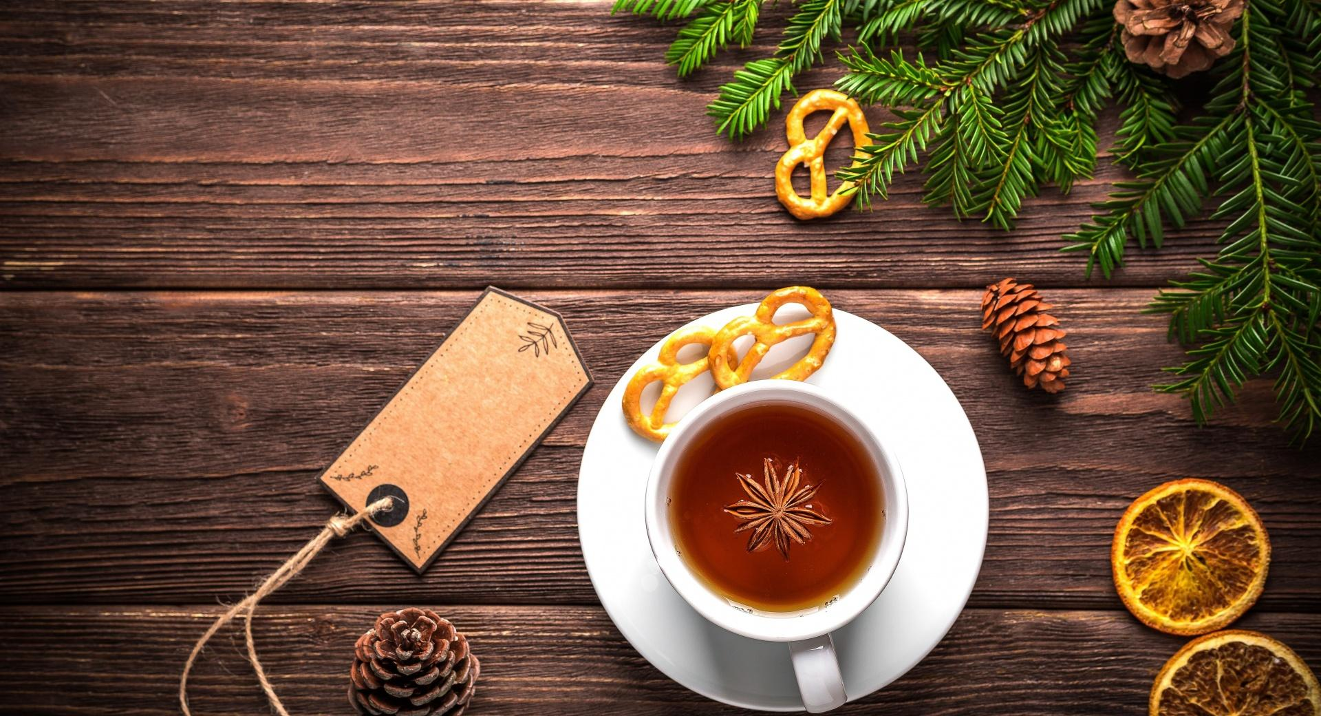 Christmas Cup of Tea wallpapers HD quality
