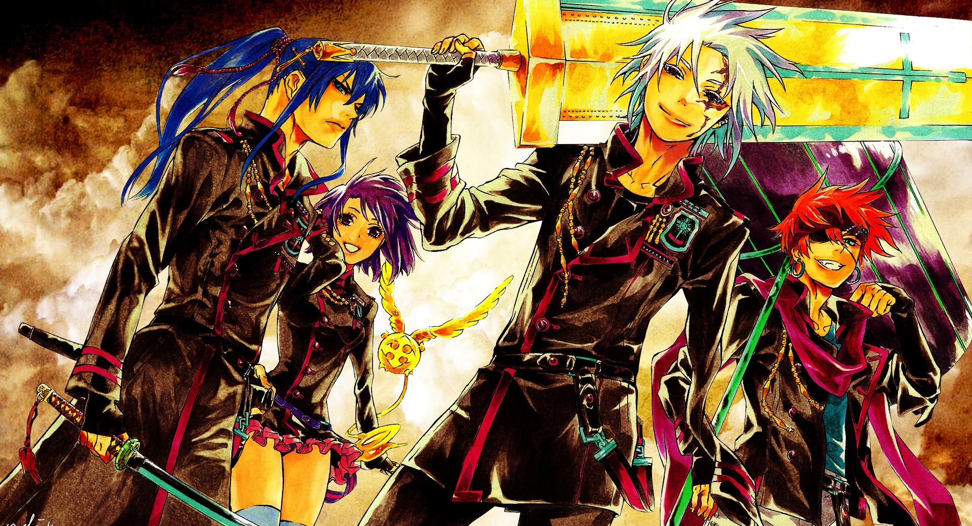 D gray Man wallpapers HD quality