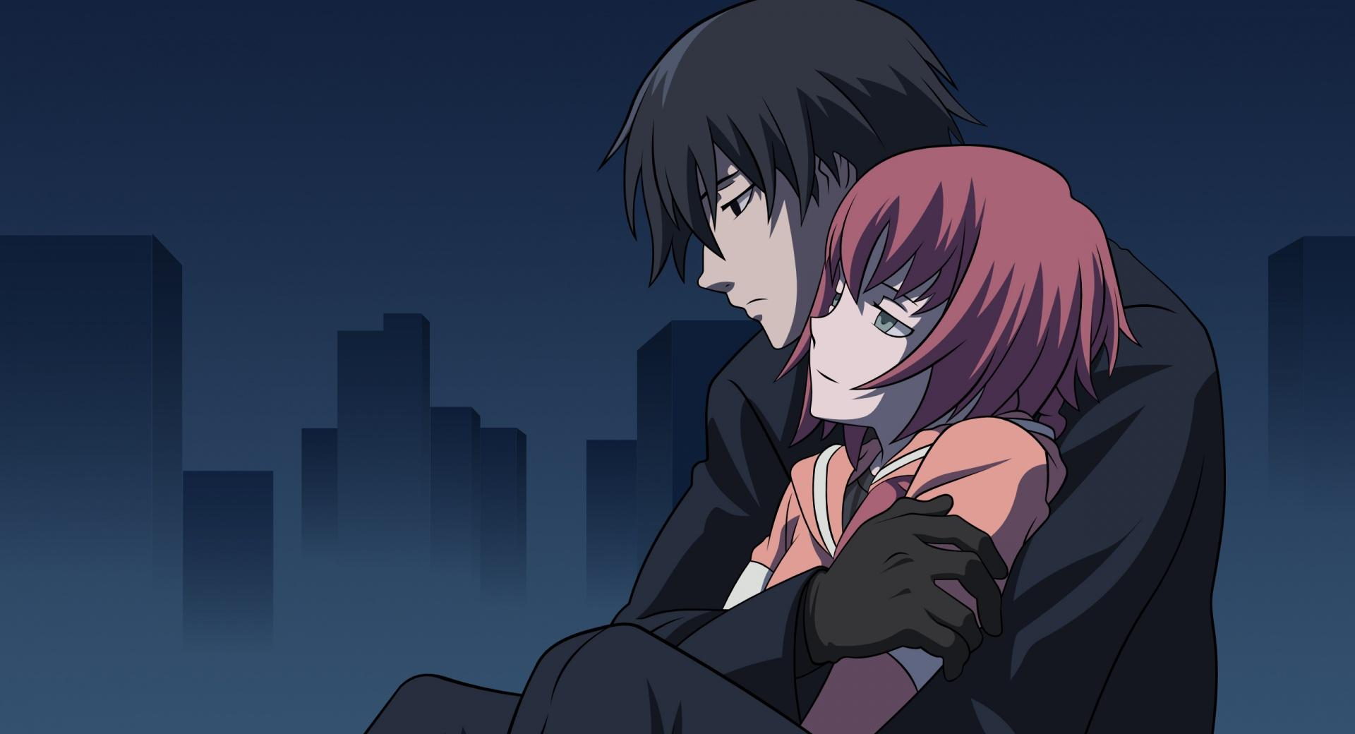 Darker Than Black Hei And Suou Pavlichenko wallpapers HD quality