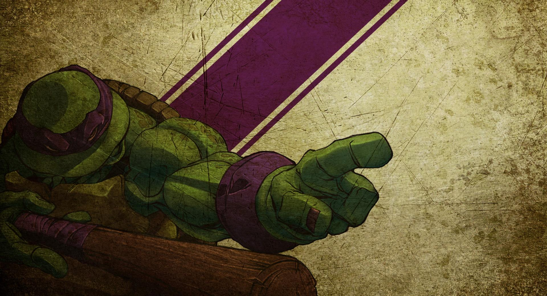 Donatello Teenage Mutant Ninja Turtles at 1024 x 1024 iPad size wallpapers HD quality