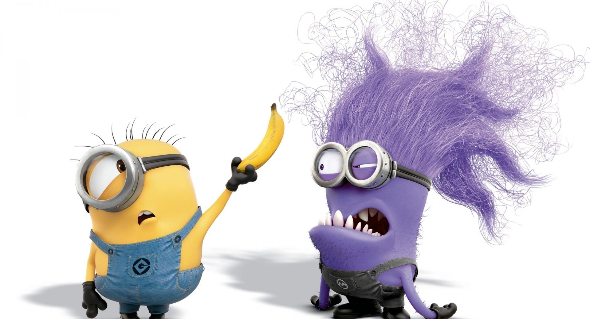Evil Purple Minion wallpapers HD quality