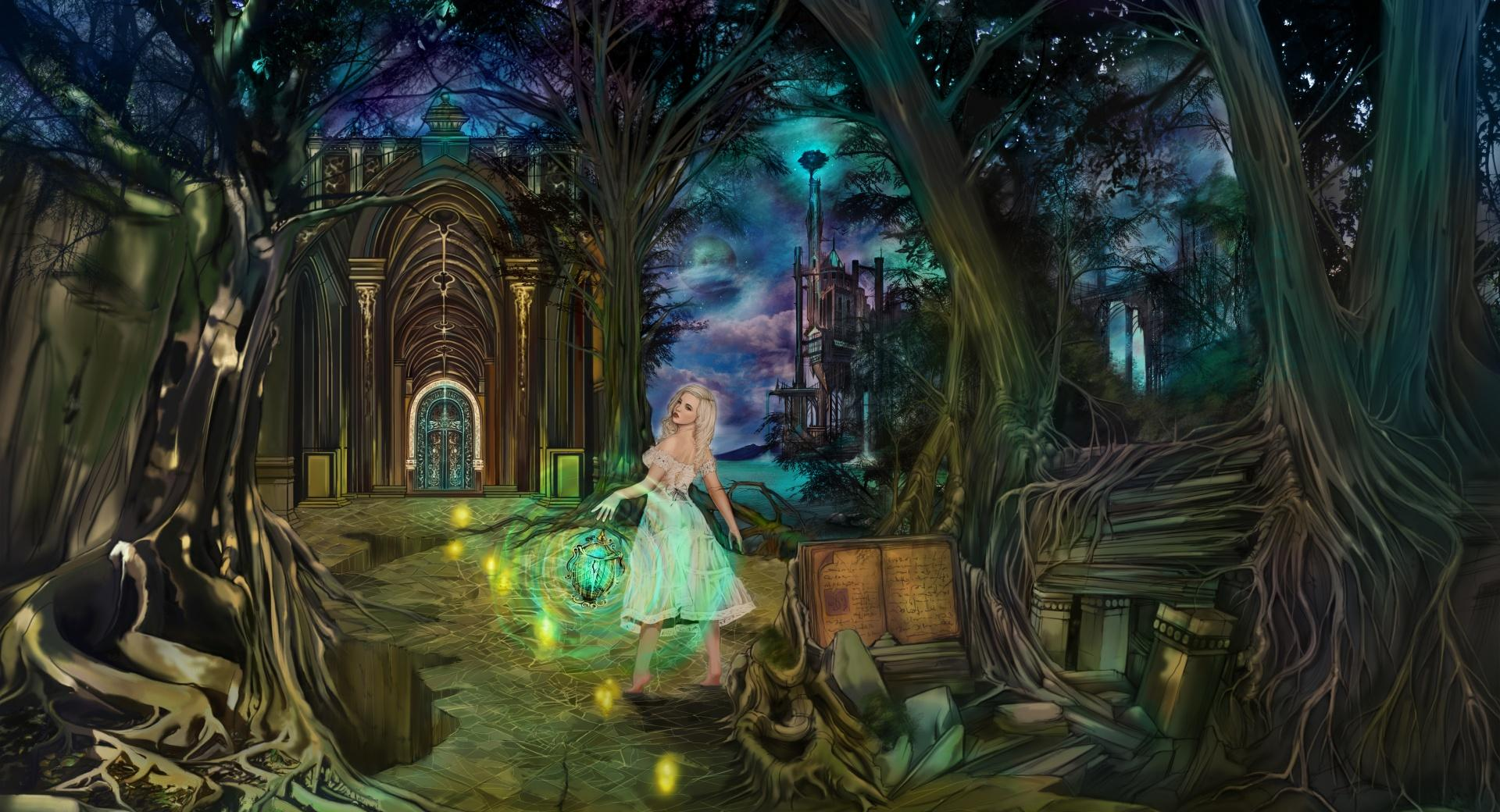 Fairytale Lady wallpapers HD quality
