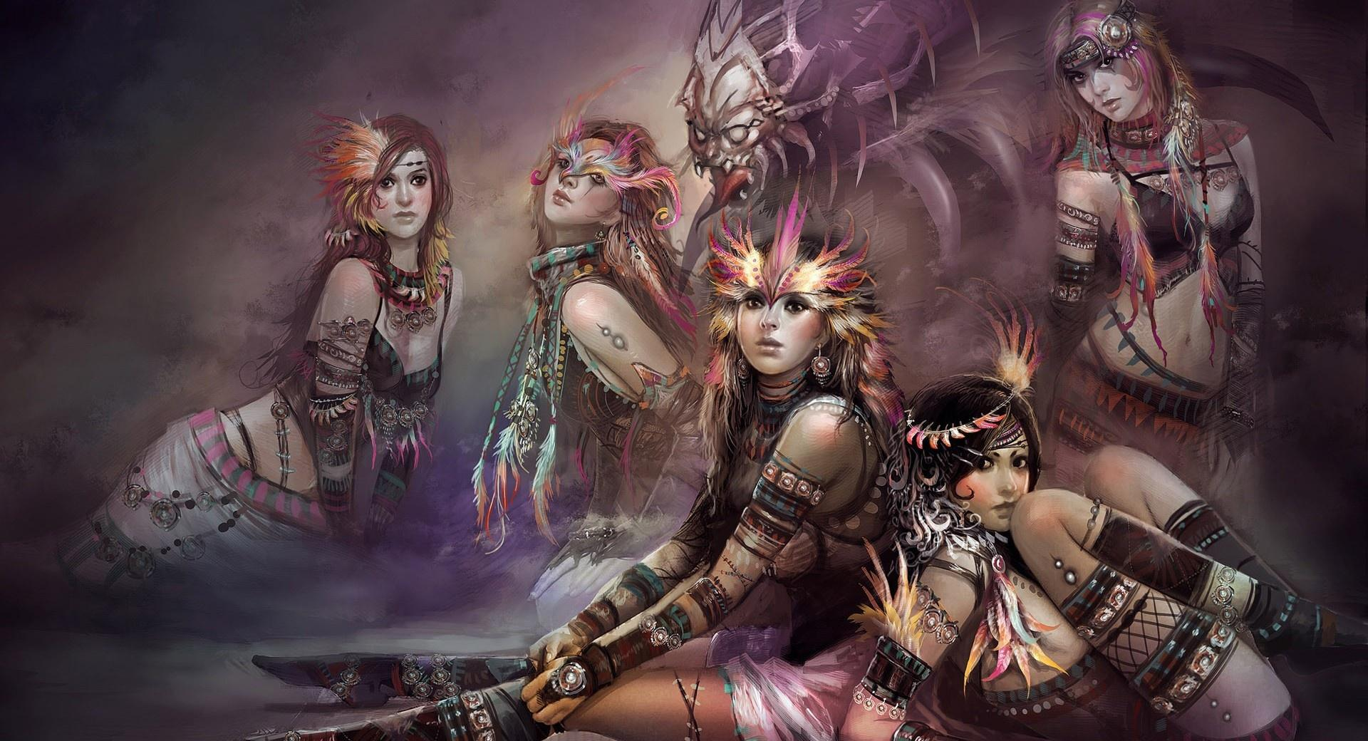 Fantasy Tribe Girls wallpapers HD quality
