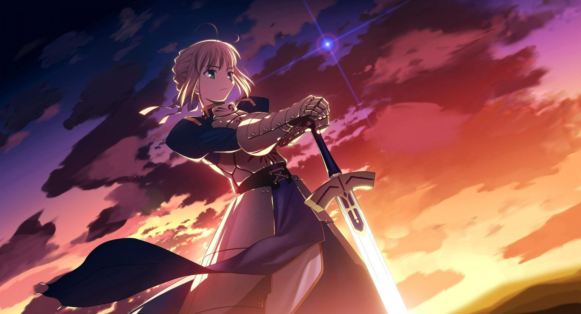 Fate Stay Night, Saber wallpapers HD quality