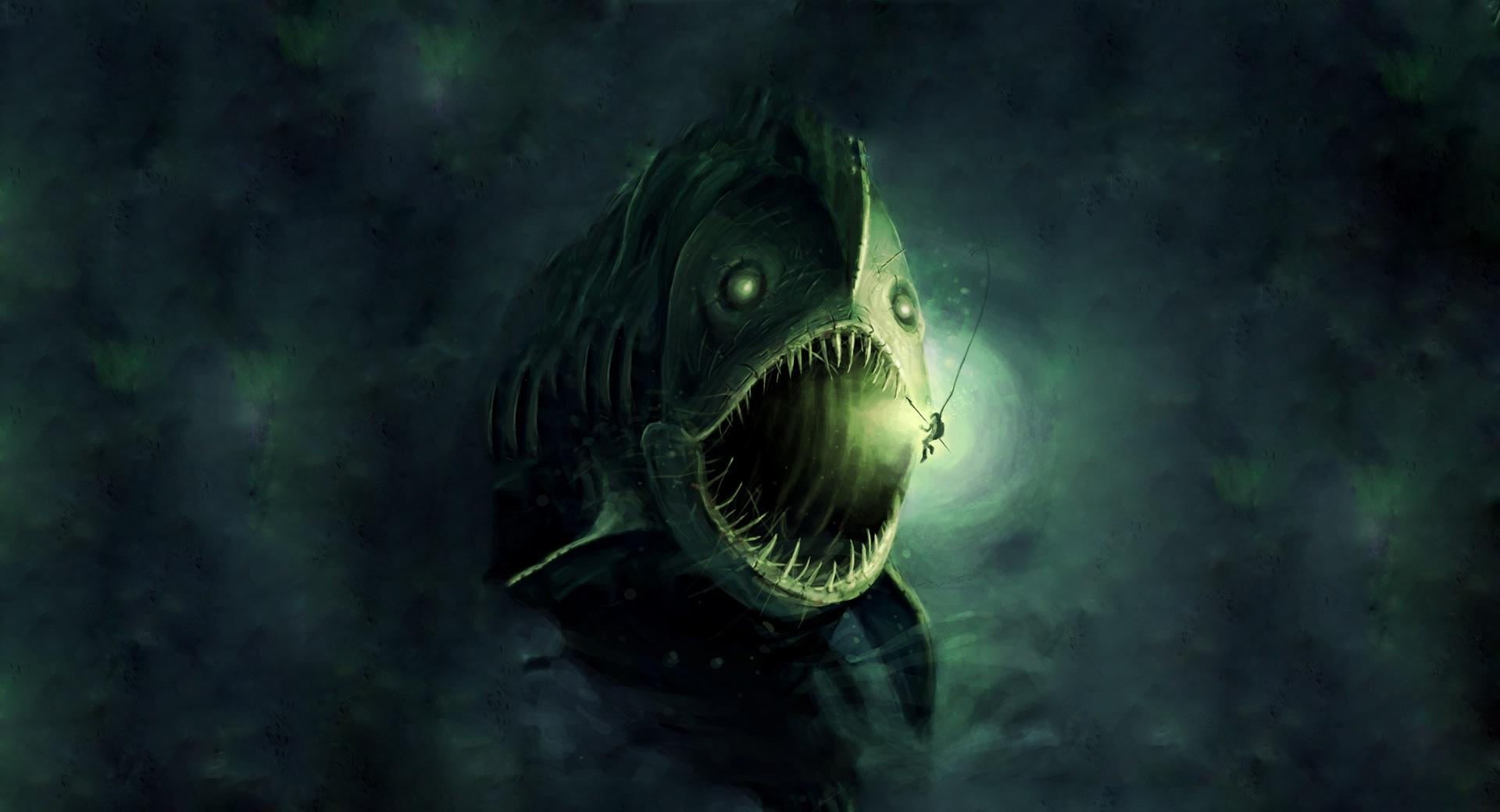 Fish Monster wallpapers HD quality