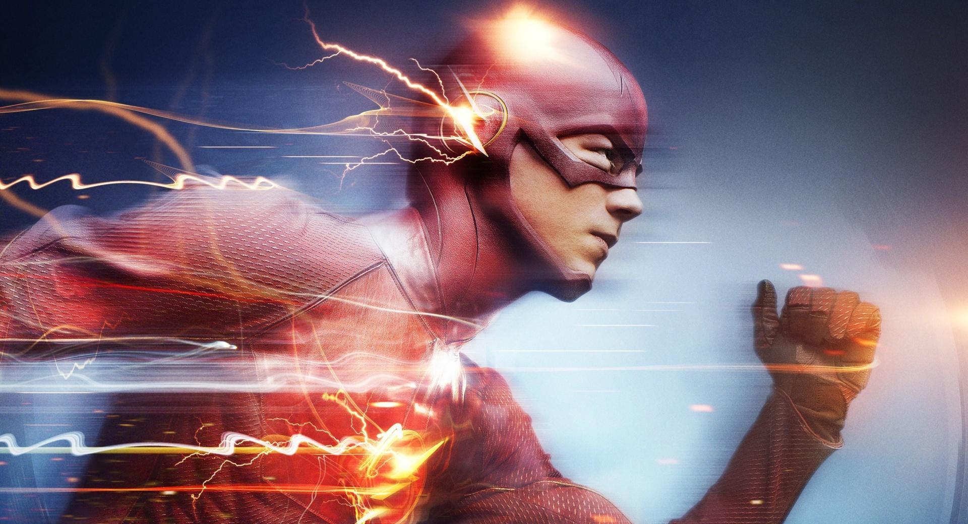 Flash Superhero Running wallpapers HD quality