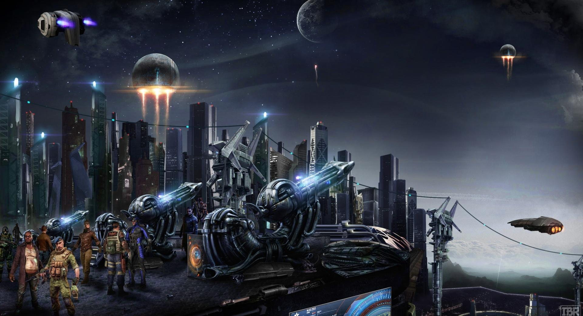 Futuristic City wallpapers HD quality