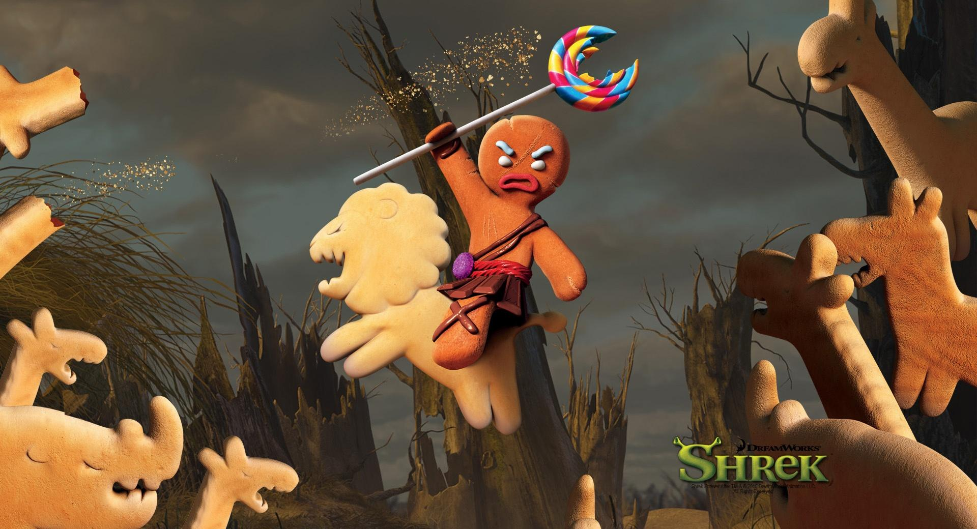Gingerbread Man, Shrek The Final Chapter wallpapers HD quality